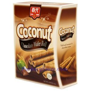 Picture of Chunguang Coconut Chocolate Wafer Roll 6 oz