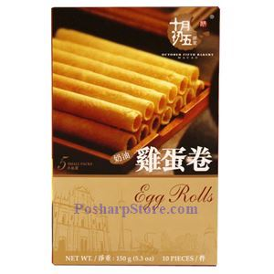 Picture of October Fifth Bakery Macau Egg Rolls 10 Pcs