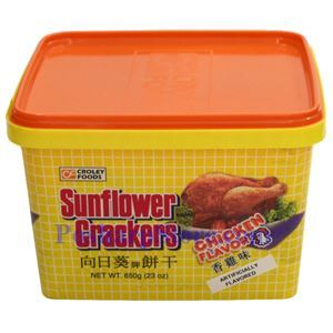 Picture of Sunflower Artificial Chicken Flavor Crackers 23 Oz