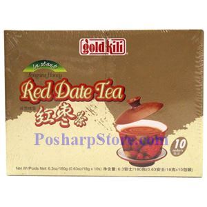 Picture of Gold Kili Instant Longan Honey Red Date Tea  10 Sachets