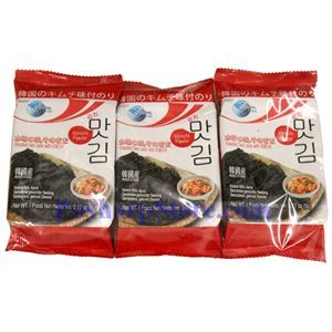 Picture of Oriental F&B Instant Roasted Seaweed with Kimchi Flavor 3 packs