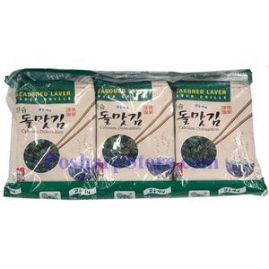 Picture of Haitai Roasted Seaweed with Calcium Dolmatkim 3 packs