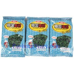 Picture of OKF Seasoned Seaweed 0.63 Oz, 3 packs
