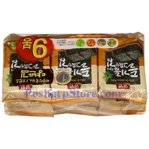 Picture of Dongwon Perilla Seasoned Laver 1.59 Oz, 9 packs