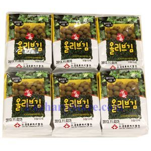 Picture of Myeong-ga Roasted Seasoned Seaweed 0.9 Oz, 6 packs