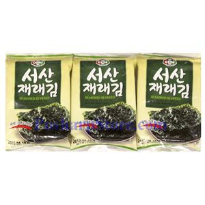 Picture of Assi Roasted Seasoned Seaweed 0.5 Oz, 3 packs
