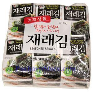图片 韩国Assi 牌即食海苔 56克,12袋
