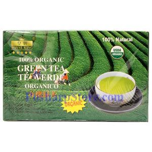 Picture of Royal King China Organic Green Tea (New Package) 100 Teabags