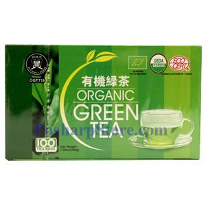 Picture of Butterfly Organic Green Tea 100 Teabags