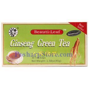 图片 美叶牌人参绿茶,30茶袋