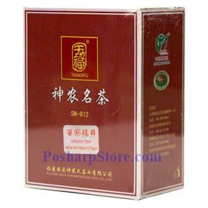 Picture of Tiandifu Longjing Green  Tea 6 Oz
