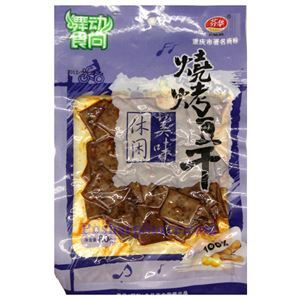Picture of Chongqing Funlife Preserved Spicy BBQ Tofu 2.8 Oz