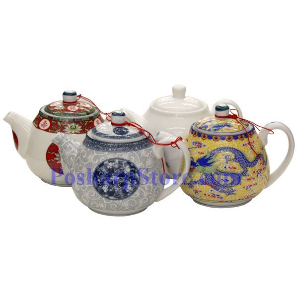 Picture for category Twin Dragon Porcelain Teapot
