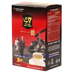 Picture of Trung Nguyen G7 3-In-1 Instant Coffee 18 Sachets