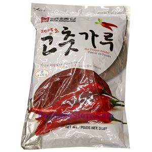 Picture of Haitai Korean Hot  Pepper Powder 3 Lb