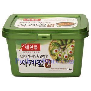 图片 韩国好餐得Haechandle牌调味黄豆酱 3公斤
