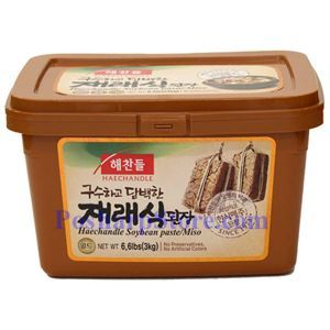 Picture of Haechandle Korean Soybean Paste (Miso Doenjang) 6.6 Lb