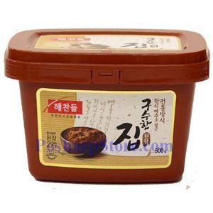 Picture of Haechandle Korean Soybean Paste (Gusuhan Doenjang) 1.1 Lb