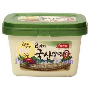 Picture of Haechandle Korean Spicy Mixed Bean Paste 1.1 Lb