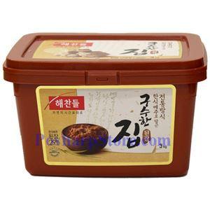 Picture of Haechandle Korean Soybean Paste (Gusuhan Doenjang) 6.6 Lb