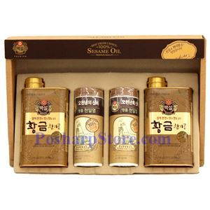 Picture of Haechandle Korean Premium Sesame Oil & Sea Salt Gift Set