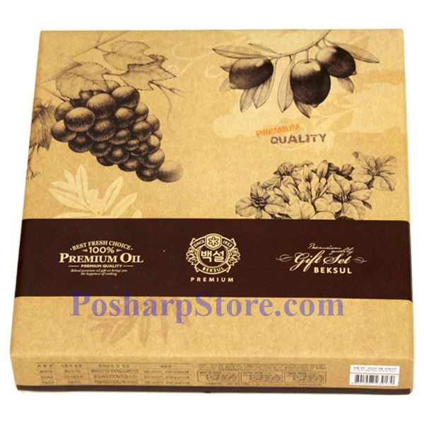Picture for category Haechandle Premium Sunflower Oil, Grapeseed Oil & Canola Oil Gift Set
