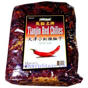 Picture of Panda Brand Tianjin Red Chilies 5 Lbs
