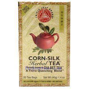 Picture of Triple Leaf Brand Corn Silk Diabetic Tea, 20 Teabags