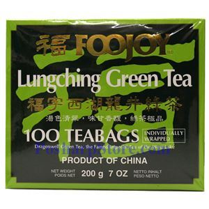 Picture of Foojoy Lungching Green Tea 100 Teabags