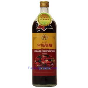 Picture of Gold Plum Premium Matured Shaoxing Rice Cooking Wine for Meat 25 oz