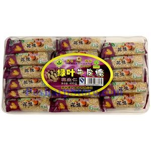 Picture of Green Leaf  Peanut Nougat Candy 14 oz