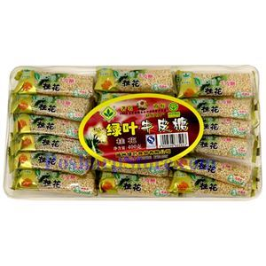 Picture of Green Leaf  Osmanthus Nougat Candy 14 oz