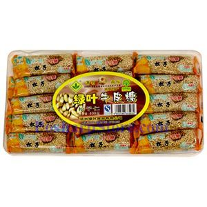 Picture of Green Leaf  Pine Nut Nougat Candy 14 oz
