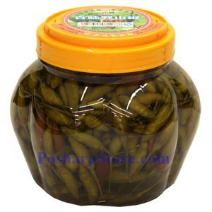 Picture of Zhenwei Pickled Yeshanjiao  Chili Peppers 2.2 Lbs