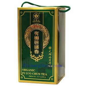 Picture of Tian Hu Shan Organic Piluochun Tea 10.7 Oz