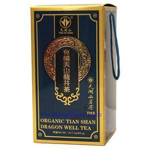 Picture of Tian Hu Shan Organic Tian Shan Dragon Well Tea 10.7 Oz