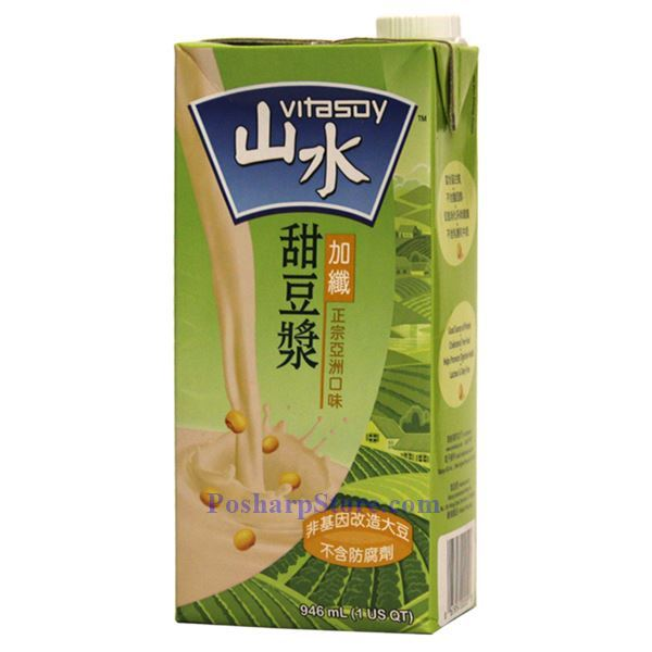 Picture for category Vitasoy Sweetened  Asian Soy Drink with Fiber Fortified 1 Liter