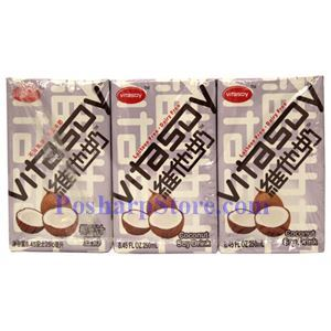 Picture of Vitasoy Coconut Soy Drink 8.4 Fl Oz (6 Pack)