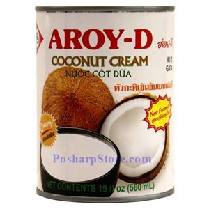 Picture of Aroy-D Coconut Cream 19 Fl Oz