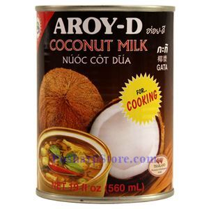 Picture of Aroy-D Coconut Milk for Cooking 19 Fl Oz