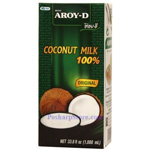 Picture of Aroy-D 100% Original Coconut Milk 33.8 Fl Oz