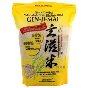 Picture of Gen-Ji-Mai Premium Quick Cooking Brown Rice 4.4 Lbs