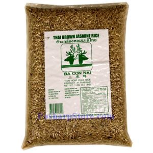 Picture of BaConNai Thai Brown Jasmine Rice  2 Lbs