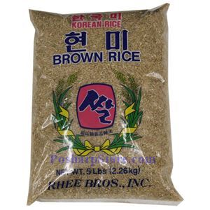 Picture of Three Bros Korean Brown Rice  5 Lbs
