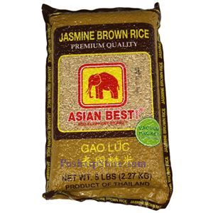 Picture of Asian Best Thai Jasmine Brown Rice  5 Lbs