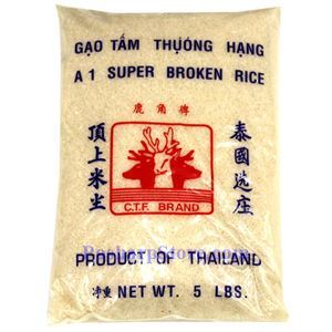 Picture of CTF Brand A1 Super Broken Rice  5 Lbs