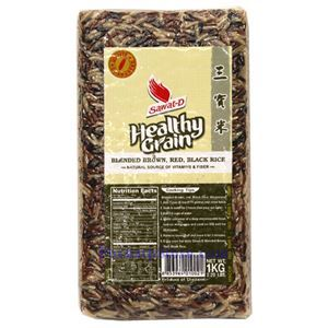 Picture of Sawat-D Healthy Grain Blended Brown, Red & Black 2.2 Lbs