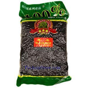 图片 福香园牌黑米 2磅