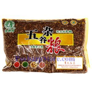 Picture of Golden Lion Dried Sweet Pink Rice 12 Oz