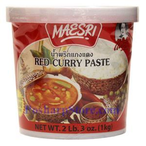 Picture of Maesri Red Curry Paste 2.3 Lb